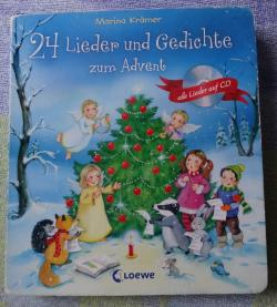 24 Lieder Und Gedichte Zum Advent Marina Krämer Babelio