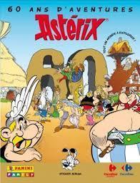 Album Panini Asterix 60 Ans