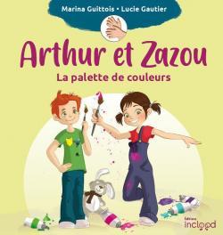 Arthur et Zazou : La palette de couleurs par Guittois
