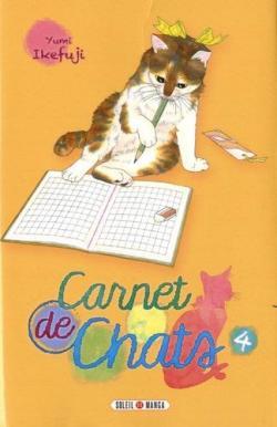 Carnet de chats Tome 4 par Ikefuji