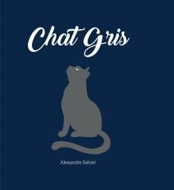 Chat gris par Saltiel