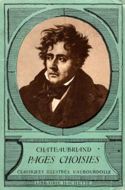 Chateaubriand pages choisies par Louis-Fernand Flutre
