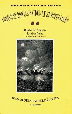 Contes et Romans Nationaux et Populaires Tome 11 par  Erckmann-Chatrian