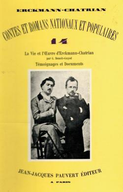Contes et Romans Nationaux et Populaires Tome 14 par  Erckmann-Chatrian