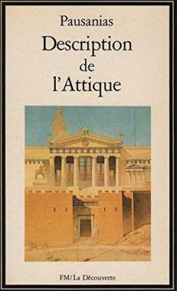 Book's Cover ofDescription de l'Attique