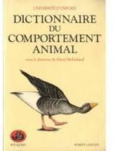 Dictionnaire du comportement animal par Université d\'Oxford