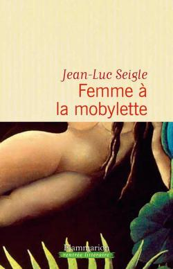 Femme à la mobylette par Seigle
