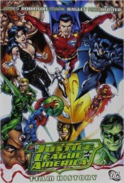 Book's Cover ofJustice League of America: Team History