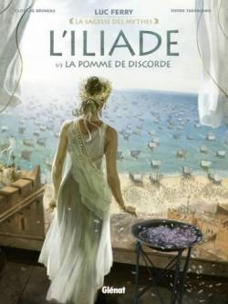L'Iliade, tome 1 : La pomme de discorde par Ferry