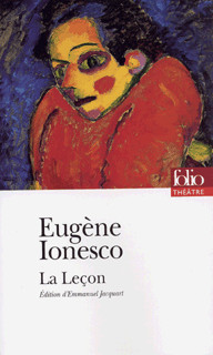 La Leçon par Ionesco