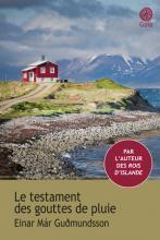 Le testament des gouttes de pluie par Einar Mar Gudmundsson