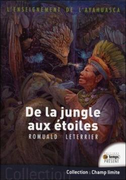 L\'enseignement de l\'Ayahuasca - De la jungle aux étoiles par Romuald Leterrier
