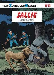 Les Tuniques Bleues, tome 62 : Sallie par Lambil