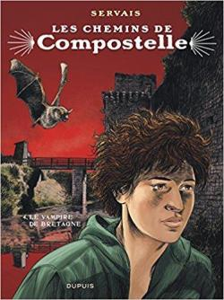 Les chemins de Compostelle, tome 4 : Le vampire de Bretagne par Servais