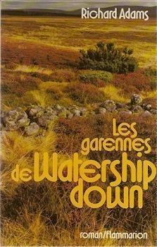Les garennes de Watership down par Richard Adams