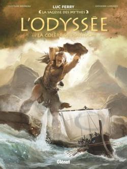 L\'odyssée, tome 1 : La colère de Poséidon par Giovanni Lorusso