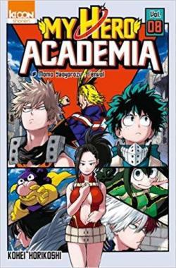 My Hero Academia Tome 8 Kohei Horikoshi Babelio