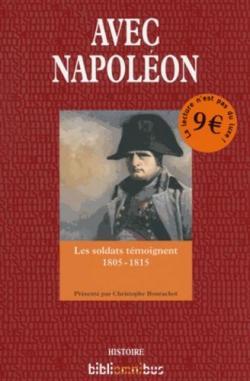 Avec Napoléon par Christophe Bourachot