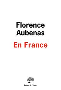 FLORENCE AUBENAS EN FRANCE PDF DOWNLOAD