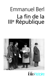 Book's Cover ofLa fin de la IIIe République