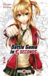 Battle game in 5 seconds, tome 2 par Kashiwa