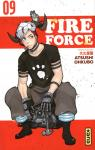 Fire force, tome 9 par Okubo