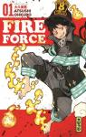 Fire force, tome 1 par Okubo