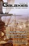 Galaxies SF n°61 : Les quatre époques de la science-fiction au Québec par Galaxies
