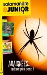 Salamandre junior n°132 : Araignées... même pas peur !
