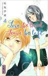 Love, be loved Leave, be left, tome 4 par Sakisaka