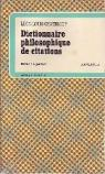 Dictionnaire philosophique de citations par Grateloup