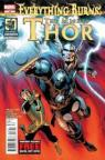 Everything Burns - The Mighty Thor - Journey into Mystery par Gillen