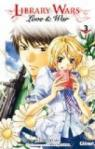 Library wars - Love & War, tome 3 par Yumi