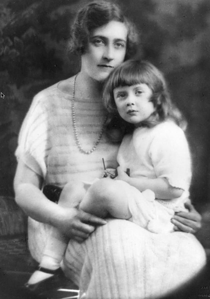 Image result for agatha christie and daughter