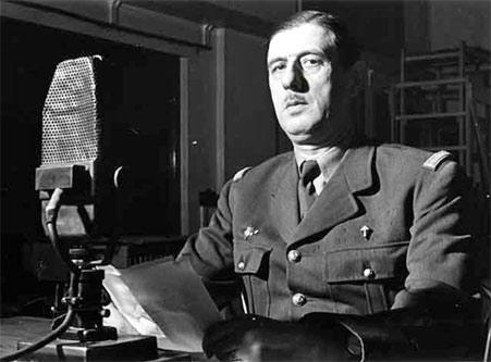 Gaulle Charles de