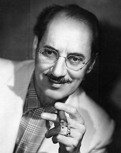 Groucho Marx Babelio