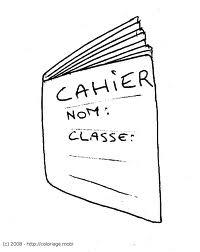 Testez vous sur ce quiz dans mon cartable le cahier - Dessin d un cartable ...