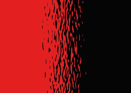 La rencontre amoureuse dans le rouge et le noir