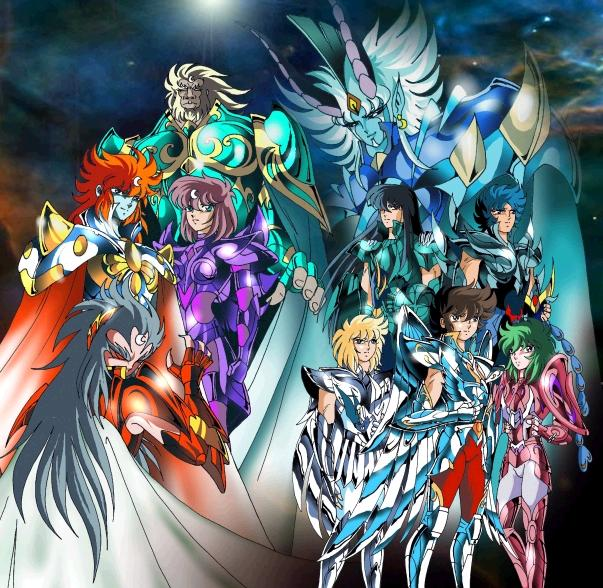 les chevaliers du zodiaques