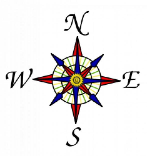 nord sud ouest est - Image