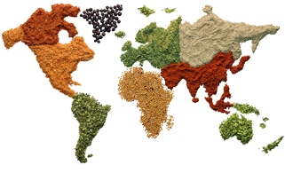 cuisine du monde-
