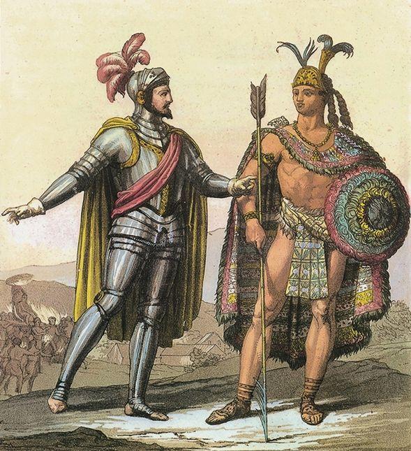Très La découverte et conquête de l'Amérique - II. L'Amérique latine  DQ21