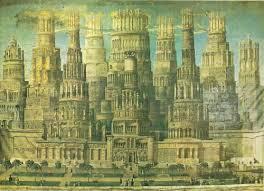 Villes r v es villes imaginaires liste de 68 livres for Architecture fantastique