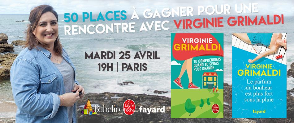 50 Places Pour Une Rencontre Privilegiee Avec Virginie Grimaldi